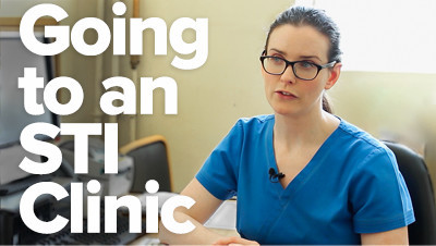 Getting tested at an STI Clinic