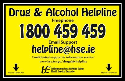 Drugs and Alcohol Helpline